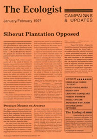 Cover of Ecologist issue 1997-01s