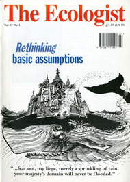 Cover of Ecologist issue 1997-07