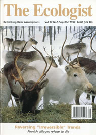 Cover of Ecologist issue 1997-09