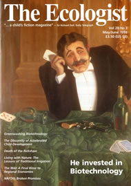 Cover of Ecologist issue 1998-05