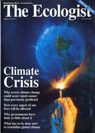 Cover of Ecologist issue 1999-03