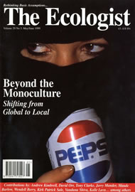 Cover of Ecologist issue 1999-05