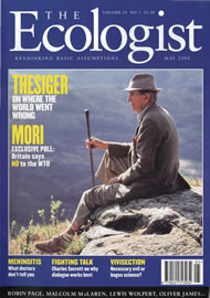 Cover of Ecologist issue 2000-05
