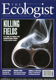 Cover of Ecologist issue 2000-06