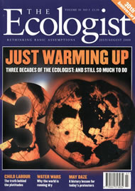 Cover of Ecologist issue 2000-07