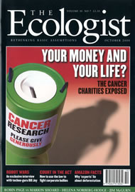 Cover of Ecologist issue 2000-10
