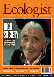 Cover of Ecologist issue 2000-11