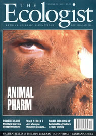 Cover of Ecologist issue 2000-12