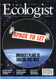 Cover of Ecologist issue 2001-03