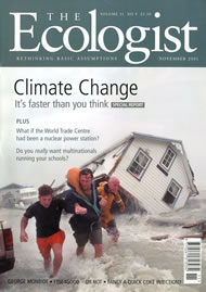 Cover of Ecologist issue 2001-11