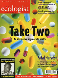 Cover of Ecologist issue 2002-10