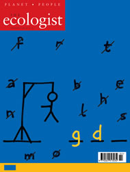 Cover of Ecologist issue 2003-02