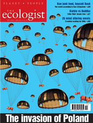 Cover of Ecologist issue 2003-12