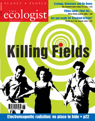 Cover of Ecologist issue 2004-06