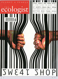 Cover of Ecologist issue 2004-07