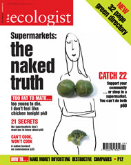 Cover of Ecologist issue 2004-09