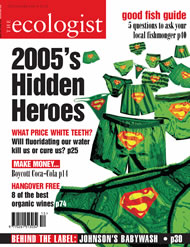 Cover of Ecologist issue 2004-12