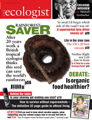 Cover of Ecologist issue 2005-02