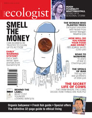Cover of Ecologist issue 2005-03