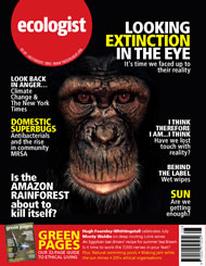 Cover of Ecologist issue 2005-07