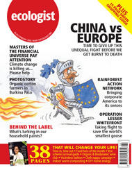 Cover of Ecologist issue 2006-02