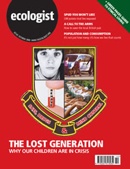 Cover of Ecologist issue 2006-10