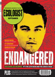 Cover of Ecologist issue 2007-09