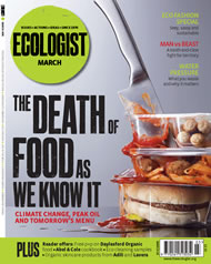 Cover of Ecologist issue 2008-03