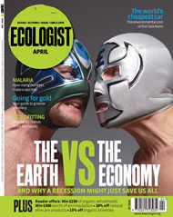 Cover of Ecologist issue 2008-04