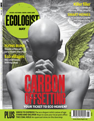 Cover of Ecologist issue 2008-05