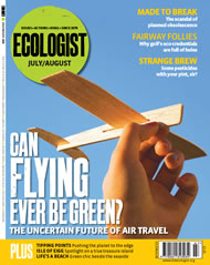 Cover of Ecologist issue 2008-07