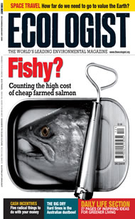 Cover of Ecologist issue 2008-12