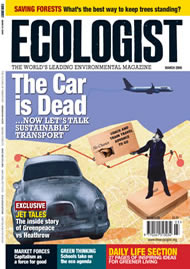 Cover of Ecologist issue 2009-02
