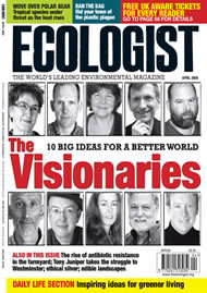 Cover of Ecologist issue 2009-03