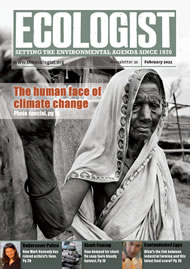 Cover of Ecologist issue 2011-02