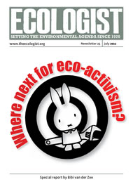 Cover of Ecologist issue 2011-07
