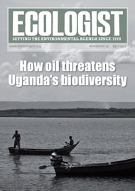 Cover of Ecologist issue 2012-04