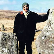Satish Kumar on Dartmoor