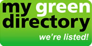 We are listed in the Green Directory